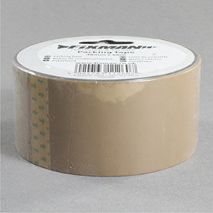 Buff packing tape