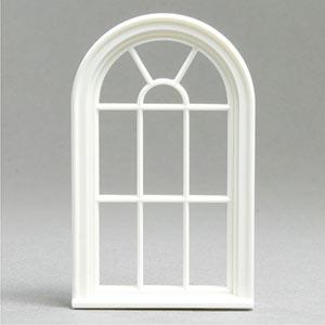 1 24 victorian round top 10 pane window for Round top windows