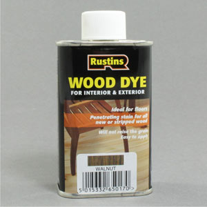 Wood dye colours