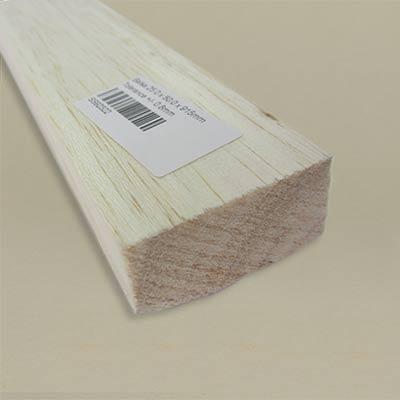 Large strips of balsa wood