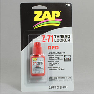 Pacer Red Z-71 Thread Locker