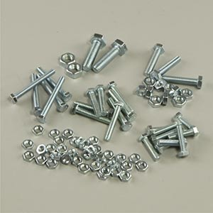 Hex Bolts & Nuts Pack