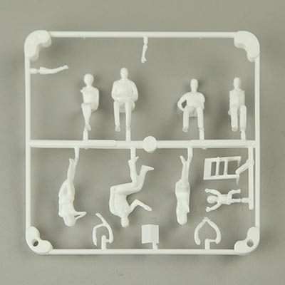 1:50 figures seated Pk16 white