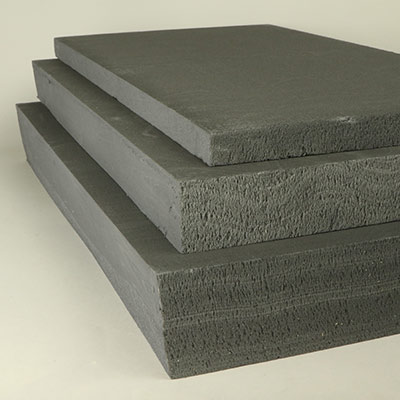 Styrofoam, dark grey large sheet