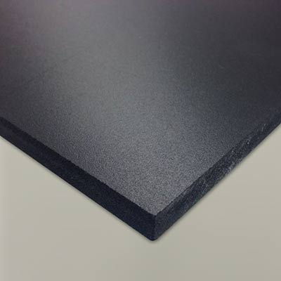 EVA CF100 craft foam 10mm black small sheet