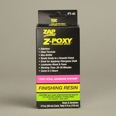 Z-Poxy finishing resin 2 × 2fl oz