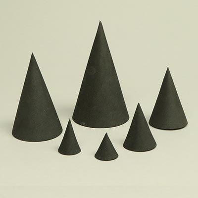Cone, EVA foam black