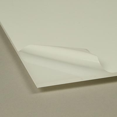 Acrylic 3.0 × 210 × 297mm transparent white