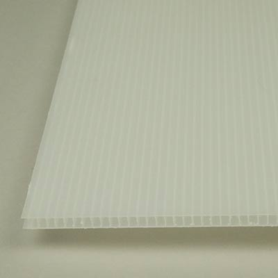 Polypropylene celled sheet 5 × 250 × 500mm
