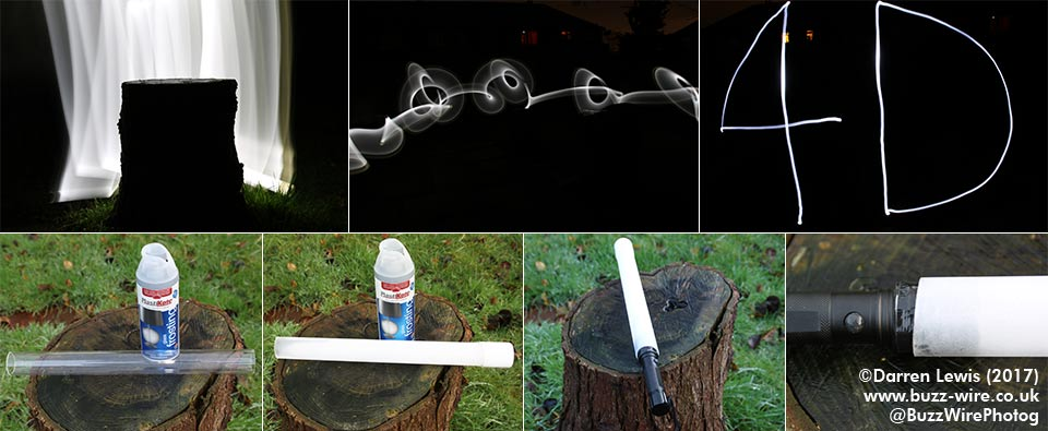 Light painting kit