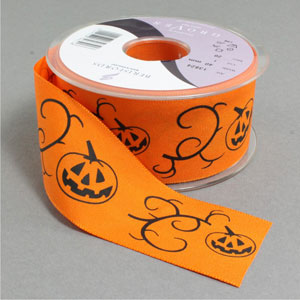 Pumpkin scroll ribbon