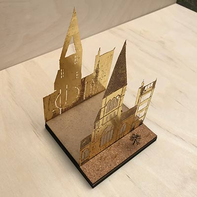 London Festival of Architecture etching workshop
