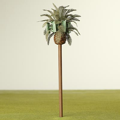 Palm tree phone mast
