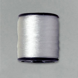 White beading thread