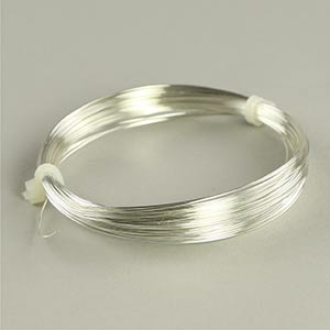 Silver plated copper jewellery wire