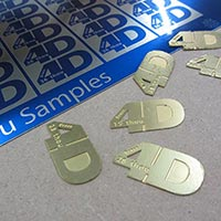 Photo etching metal options