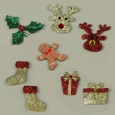 Embellishments for Christmas displays