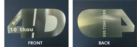 Photo etching service