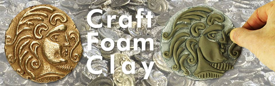 Craft foam clay