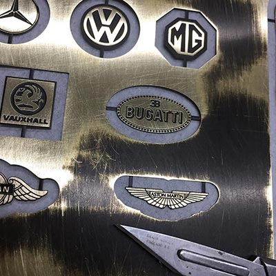 4D modelshop photo etching service