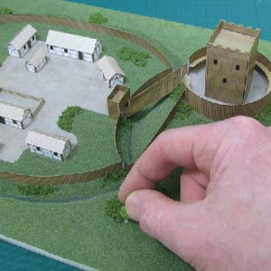 How to build a model Motte and Bailey Castle