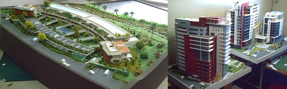 Architectural model by Bayaram Francis