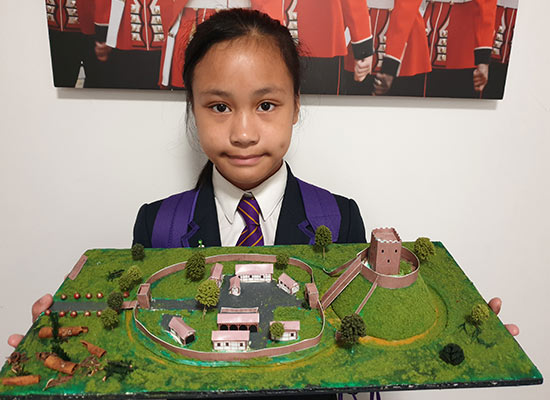 Motte & Bailey model by Amanda Valenzuela