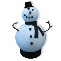 download how to make a snowman