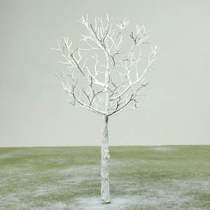 Model tree in Winter foliage